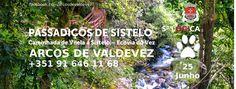 """NÃO DESPEJAMOS AS PESSOAS NA ENTRADA PARA AS RECOLHER À SAÍDA O percurso do mergulho na natureza numa paisagem deslumbrante: os Passadiços de Sistelo em  Arcos de  que nos leva a uma das 49 aldeias  finalistas do concurso """"Sete maravilhas de Portugal - Aldeias"""". Venha desfrutar em pleno da natureza e deixe-se seduzir por vistas deslumbrantes daquelas de cortar a respiração. Sem pressas...  http://ift.tt/2sA2JWx"""
