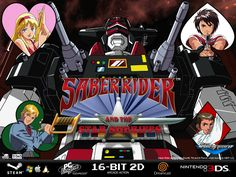 Saber Rider and the Star Sheriffs - 3DS / Steam / Dreamcast Project-Video-Thumbnail