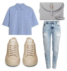 """""""Untitled #2250"""" by fiirework ❤ liked on Polyvore featuring H&M, T By Alexander Wang and Meli Melo"""