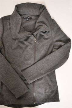 So so so cute - sweet rain roger assymetrical zip front jacket - stitch fix