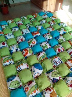 Одеяло бомбон Blanket bubble quilt by Mudrenova Mariya Instagram - @_baby_bamby