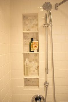 shower shelf ideas