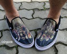Zumbis, #zumbis everywere! Que tal calçar esse #pé que vai deixar todo mundo com inveja?  #zombie #feet #geek  Compre em: http://oirgeek.iluria.com/