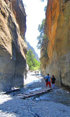 VISIT GREECE| Samaria Gorge in #Chania #Crete #Greece