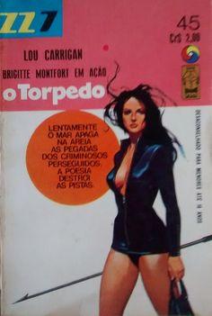 O TORPEDO nº45 Coleção ZZ7 Literatura Estrangeira Lou Carrigan Formato: 11,5x16 Ano:1970 128 páginas Editora: Monterrey