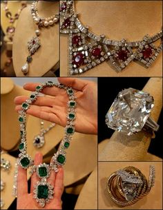 Elizabeth Taylor's famous jewellery, including the Krupp Diamond