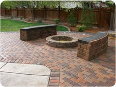 how make a bench out of pavers | IdahoClassic.com | Idaho Classic Landscaping & Sprinklers, LLC | Other ...