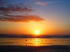 Sunrise at Jacksonville Beach FLORIDA