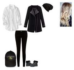 """""""Visiting Hogsmeade Tag"""" by ilovecats-886 ❤ liked on Polyvore featuring JDY, Free People and Hufflepuff"""