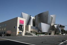 Disney Concert Hall in los angeles downtown - Frank Gehry