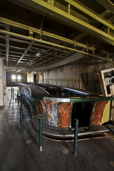 Abandoned America's Matthew Christopher took 15 photographers onto the SS United States, a deteriorating ocean liner, including Property's Laura Kicey.