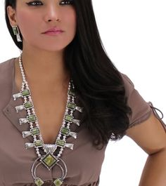 Shop Gorgeous Squash Blossom Necklaces @ www.silvertribe.com
