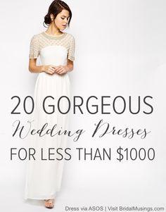 ASOS Wedding Dress | Bridal Musings Wedding Blog
