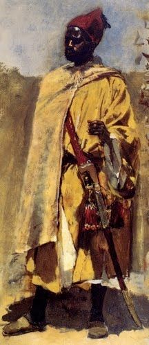 Believed to be a painting of Mansa Musa - In search of artist & period
