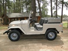 toyota land cruiser 1971 white restored fj40 4×4 rare japan b | Land Cruiser Of The Day!