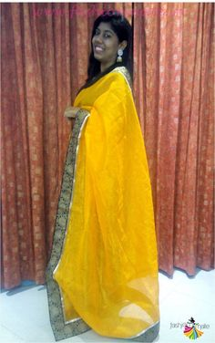 Outfit of the day – Bhagalpuri Silk Saree from Sareez.com | Fashion Mate