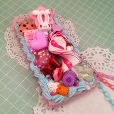 Sweet Deco Kawaii Candy Explosion Decoden Case with by Lucifurious, $38.00