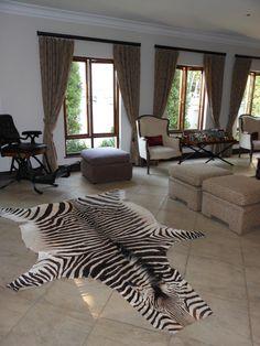 Zebra skin - Decor By Instyle Indulgence Interiors