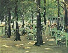Max Liebermann painting: Restaurant