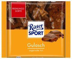 RITTER SPORT Fake Schokolade Gulasch