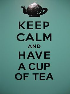Great variation on the classic Keep Calm poster