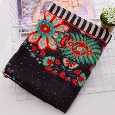 SHARE & Get it FREE | Chic Handpainted Ethnic Flower Pattern Women's Fringed ScarfFor Fashion Lovers only:80,000+ Items·FREE SHIPPING Join Dresslily: Get YOUR $50 NOW!