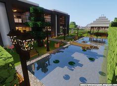 Minecraft Tree, Minecraft Bridges, Minecraft Mansion, Cute Minecraft Houses, Minecraft Room, Minecraft City, Minecraft Decorations, Minecraft Construction, Cool Minecraft