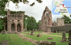 MessageToEagle.com – On November 10, 1150, the Scottish Dryburgh Abbey was founded and it is believed that construction works continued for most of the following century. Dryburgh Abbey, located near Dryburgh on the banks of the River Tweed is considered perhaps most beautiful of all Border Abbeys of Scotland. Despite being very old building and …