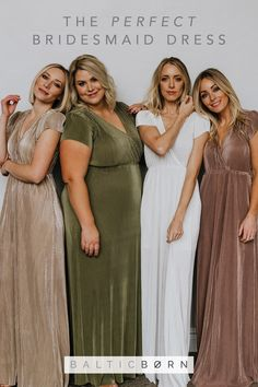Looking for the perfect fashionable dresses for bridesmaids? Check out Baltic Born Clothing for all bridesmaid dress needs! Wedding Bells, Boho Wedding, Dream Wedding, Bridesmaids And Groomsmen, Wedding Bridesmaid Dresses, Look Fashion, French Fashion, Fall Fashion, Mens Fashion