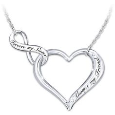 My Sister, My Friend Necklace