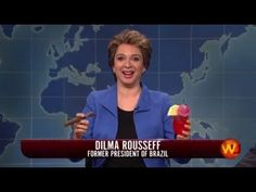 SNL - Dilma Rousseff, Weekend Update 2016
