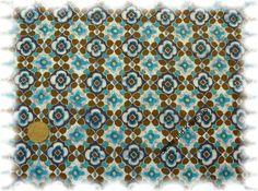 Stoffe und Kreatives - Mexican Club  Popeline/Baumwolle petrol  Rest_83 cm