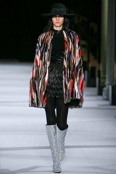 Saint Laurent Fall 2014 Ready-to-Wear Fashion Show - Magda Laguinge