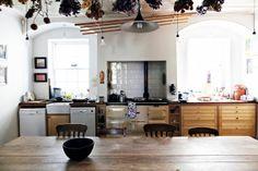 Beautiful large organic kitchen