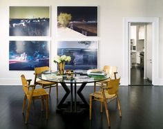 Modern dining room - nice photo