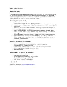 Resume Objective For Retail Marketing Resume Examples  Httptopresumemarketingresume