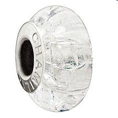 Camilla Cracked Ice Murano Glass Bead