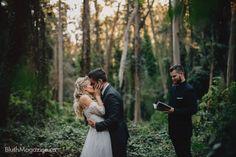 Nicole & Jon's Sutro Forest Wedding. Outdoor Wedding Ceremony, Elopement, Elope, Wedding Photos