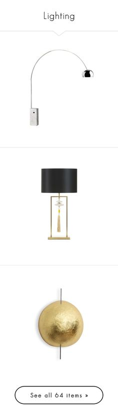 Lighting  by sofaandchair ? liked on Polyvore featuring home lighting table l&s.    sc 1 st  Pinterest & Versace Home Via Gesuu0027 Table Lamp ($3755) ? liked on Polyvore ... azcodes.com