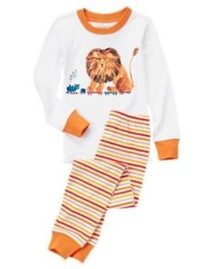 5 T Gymboree ERIC CARLE LION Ltd. Edition Gymmies Pj s Pajamas Boy NWT   fashion ce4b97274953