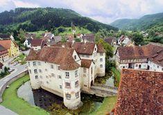 Castillo Wasserschloss Glatt, Alemania