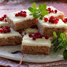 Mjuk pepparkaka Christmas Baking, Winter Christmas, Christmas Time, Swedish Recipes, Fika, Gingerbread, Nom Nom, Cheesecake, Deserts