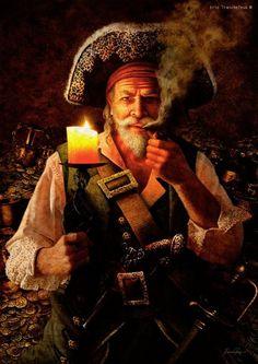 Pirates:  #Pirates ~ Eric Tranchefeux.