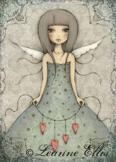 Butterfly - Postcard from Santoro London Illustrations, Illustration Art, Claudia Tremblay, Santoro London, Swing Card, Art Carte, Angelic Pretty, Arte Popular, Art Moderne