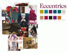Excentriekelingen en stijliconen zoals Oscar Wilde, Vivienne Westwood, Björk of Iris Apfel (93 jaar oud!) inspireren hen. Ze doorbreken de saaiheid en voeden de middelmatigheid met nieuwe verhalen. De basis van deze scène is klassiek met een tijdloos gevoel voor 'speciaal zijn'. Glamour en dure materialen, die liefst slechts in limited edition te verkrijgen zijn, floreren hier weelderig. De kleuren zijn rijk, diep en flamboyant.