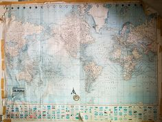 Suwarrow, Cook Islands, old map