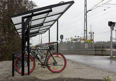 Landscape Architecture, Landscape Design, Cycle Shelters, Bike Shelter, Shelter Design, Bicycle Storage, Bike Parking, Shade Structure, Bike Store