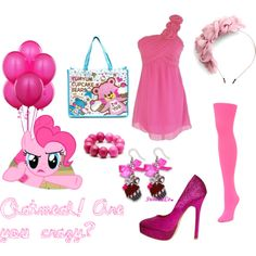 My Little Pony - Pinkie Pie, created by gingergeezer on Polyvore