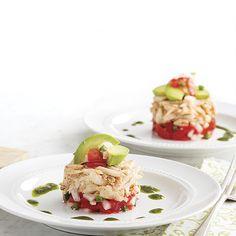 Crab Napoleon - Louisiana Cookin