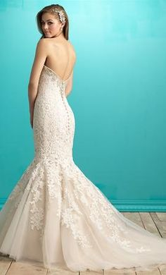 Allure Bridals 9266 wedding dress currently for sale at 20% off retail.